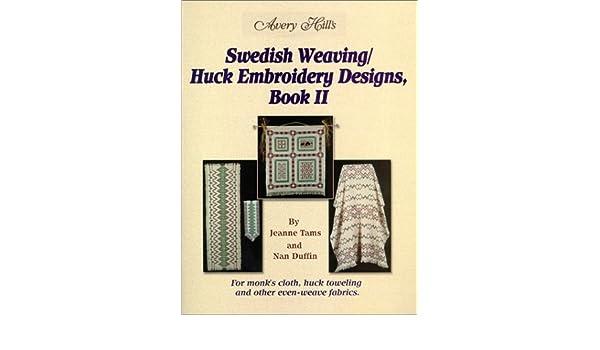Swedish Weavinghuck Embroidery Designs Book 2 Amazon