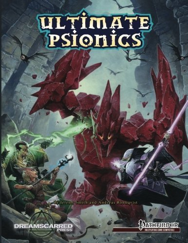 Ultimate Psionics B&W: Black & White Softcover by Jeremy Smith (2014-06-25)