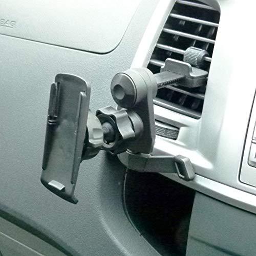BuyBits Easy Fit KFZ Entlüftungsgitter-Halterung/Abluftstutzen-Halterung für Garmin GPSMAP 62 62s 62sc 62st 62stc 64s 64 64st - 62sc-gps Garmin Gpsmap