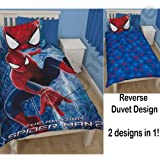 Disney Spiderman Web 3D Single Panel Duvet Set