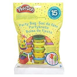 Hasbro- Play-Doh Bustina di Vaso, Multicolore, 15 Vasetti, 18367EU4