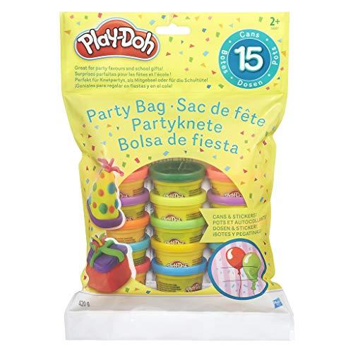 Hasbro Play-Doh 18367EU4 - Partyknete mit Stickern, Knete (Für Buch-set Kleinkinder)