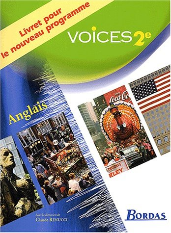 Voices : Anglais, 2nde (Livret)