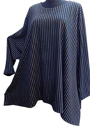 46f7cf8f23e9 La Bass LABASS-Tunika-Bluse-Jeans-Tunika-Langarm-Lagenlook ...