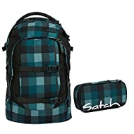 Satch, Set de Sac scolaire bleu Bleu gris