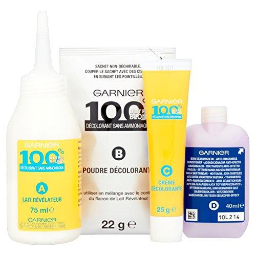 Garnier - 100% Ultra Blond - Décoloration sans ammoniaque - Décolorant Sans Ammoniaque image 2