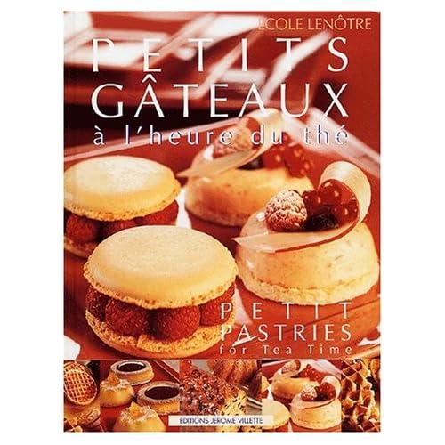 Petits gâteaux à l'heure du thé (bilingue français-anglais)