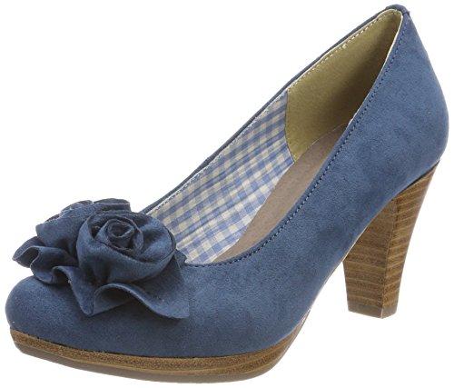 HIRSCHKOGEL by Andrea Conti Damen 3000518 Pumps, Blau (Jeans), 41 EU
