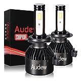 Audew H7 LED 8400LM Kit Lampada Sostituzione per Alogena Lampade e Xenon Luci, Fari...
