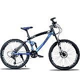Vélo de Montagne étudiant 26 Pouces en Descente Tout-Terrain Double Frein à Disque...