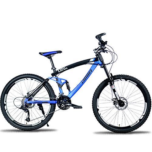 Vélo de Montagne étudiant 26 Pouces en Descente Tout-Terrain Double Frein à Disque 27 Vitesses...
