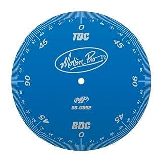 Motion Pro 08-0092 Anodized Black Degree Wheel