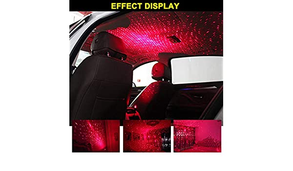 flexibel Auto Sternenhimmel yangGradel Auto-Sternenhimmel Projektor-Lichter f/ür Party Innenbeleuchtung