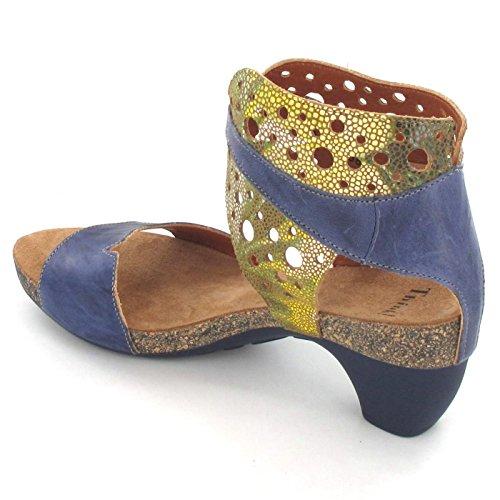 Think! , Bride cheville femme Blau (jeans/kombi 84)