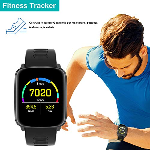 Zoom IMG-2 yamay smartwatch fitness tracker android