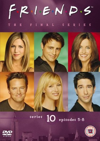 Click for larger image of Friends - Series 10 - Vol. 2 - Episodes 5-8 [DVD] [1995]