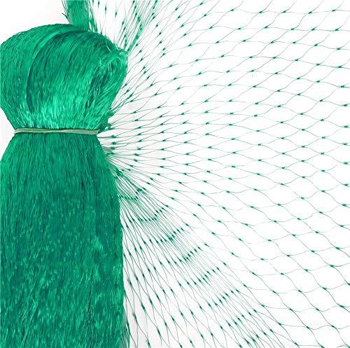 Garden Mile 3 packs de 4m x 10m OISEAU Filet de vert jardin anti oiseau étang Filet de pour protection des végétaux Mailles Filet de pour ANTI-PARASITES, pois fruitiers Filet de 1.5x1.5 cm trous