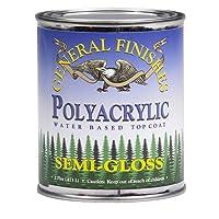 General Finishes Poly/Acrylic Semi-Gloss Finish (Gal)