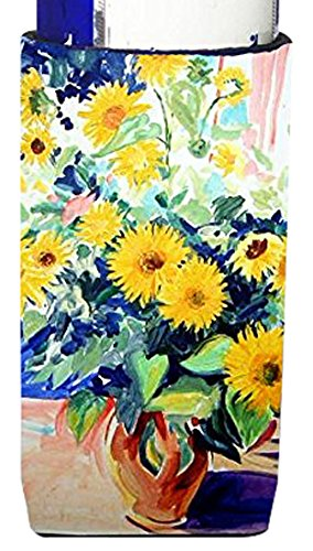 sunflowers-by-roy-avis-michelob-ultra-koozies-for-slim-cans-ara0063muk