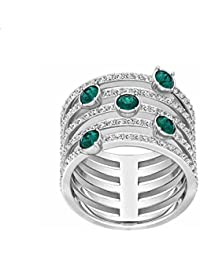 Swarovski – Anillo de mujer Cristal Verde – 5166809