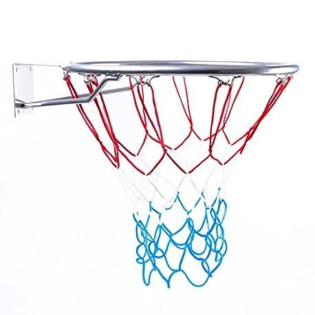 Canasta Outdoor Canasta de baloncesto infantil para habitaciones Anillo con Red color plata di metro 45 cm