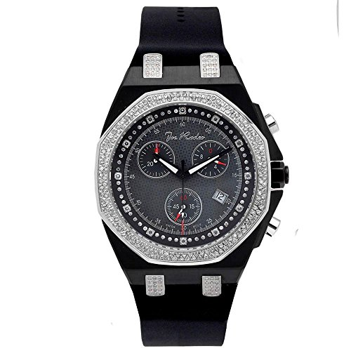 Joe Rodeo Diamant Homme Montre - PANAMA noir 2.15 ctw