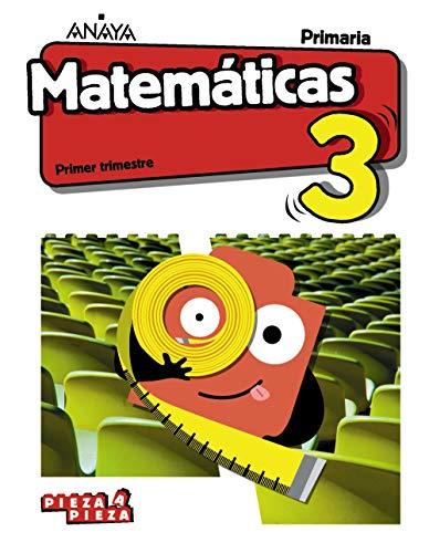 Matemáticas 3 (Incluye Taller de Resolución de problemas) (Pieza a Pieza)