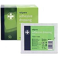 relipore selbsthaftende Wundkompresse, steril 5cm x 7,5cm Box von 50(RL600) preisvergleich bei billige-tabletten.eu