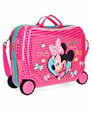Minnie Happy Helpers, Valigia Trolley per bambini Cavalcabile, 50 cm, 34 liters, Multicolore (Multicolor)