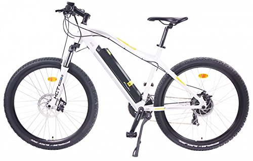 EASYBIKE E-Bike Elektofahrrad M3-600 26 Zoll Bereifung 11Ah 396Wh E-Mountainbike weiß Modell 2014