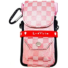 Dardera cameo l-style krystal colors check pink