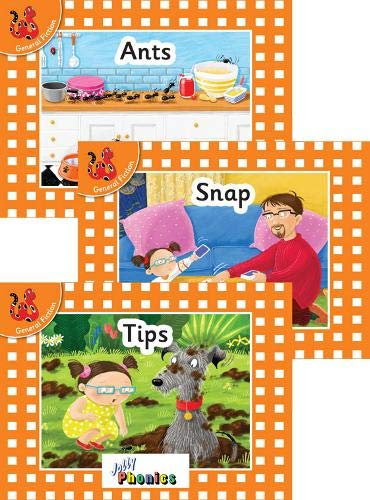 Jolly Phonics Orange Level Readers Set 1: in Precursive Letters (British English edition)