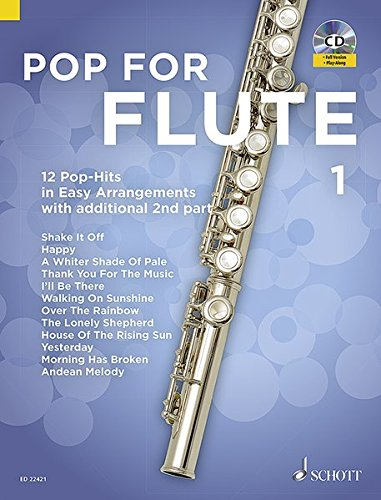Pop For Flute Volume 1+CD --- Flûte traversière (avec seconde flûte traversière ad lib) par Compilation