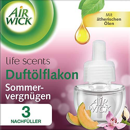Air Wick Duftölflakon Nachfüller, Sommervergnügen, 3er Pack (3 x 19 ml)