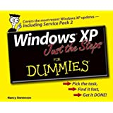 Windows XP Just the Steps For Dummies by Nancy Stevenson (2004-11-19)