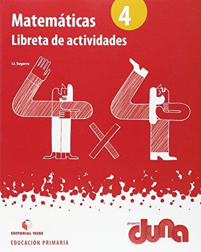 Matemáticas 4. Proyecto Duna - libreta - 9788430719419