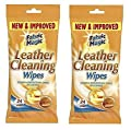 LEATHER CLEANING WIPES X 48-KILLS GERMS : everything 5 pounds (or less!)