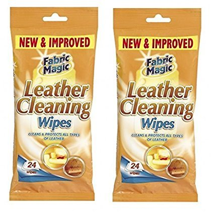 LEATHER CLEANING WIPES X 48-KILLS GERMS by 151