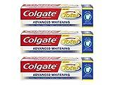Dentifricio Total Whitening - 3 x 75 ml