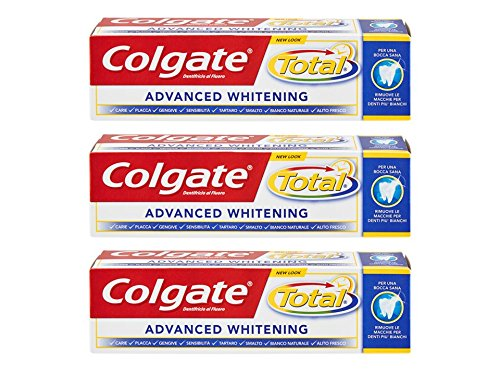 Dentifricio Total Whitening - 3 x 75 ml