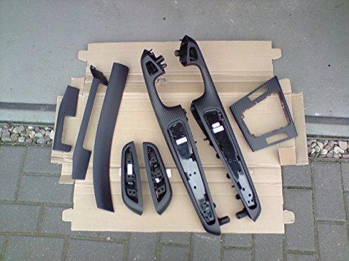 Baguettes décoratives pour l'intérieur - Film en carbone adapté pour BMW E46 Coupé et Cabriolet