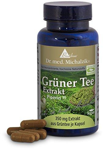 Grüner Tee-Extrakt 700 mg, mit EGCG 350 mg, mit 98% Polyphenolen (686 mg) nach Dr. med. Michalzik - ohne Zusatzstoffe