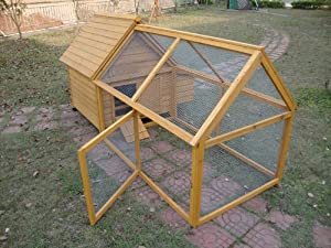 Cocoon Chicken Coop Hen House Poultry Ark Nest Box - Model 600 With Detachable Huge 1.4m Run by Cocoon