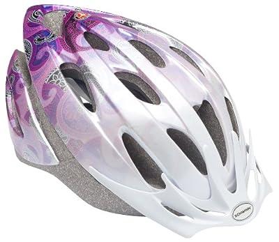 Schwinn Women's Thrasher Helmet, Pink/Purple from Pacific Cycle, Inc (Accessories)