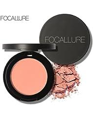 Poudre,OVERMAL Focallure Capacité De RéParation Blush Bloc De Poudre Exquis Rosy Gloss Fine Contour #03