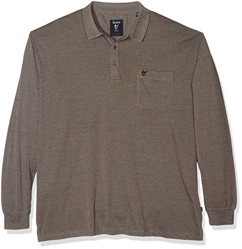 hajo Herren Poloshirt 20072xxl Silber (Silbermelange 106)