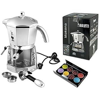 bialetti mokona machine caf espresso avec syst me de fonctionnement trivalent couleur. Black Bedroom Furniture Sets. Home Design Ideas