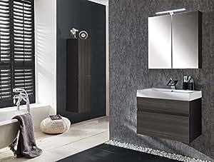 sam badm bel set 3 tlg parma tr ffeleiche matt softclose badezimmerm bel waschplatz. Black Bedroom Furniture Sets. Home Design Ideas