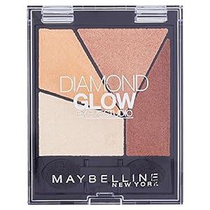 Maybelline Eye Studio Quad Diamond Glow Coral Drama 2 - eye shadows (Brown, Coral Drama, Shimmer, Italy)