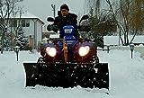 Schneeschild Quad ATV UTV für große Fahrzeuge wie Grizzly, King Quad,KVF, TRX, Polaris, Bombardier usw, 140 cm Breite universell ALS Schneepflug oder Seitenschieber